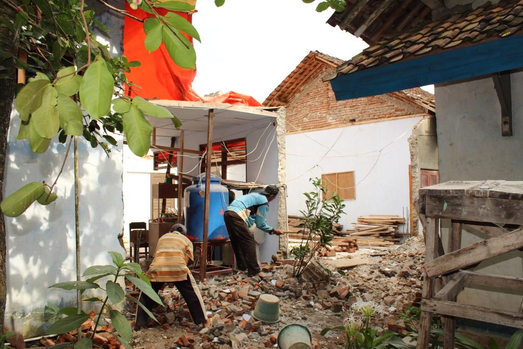 Rehab Gedung Sekretariat Desa Cangak Tahun 2016